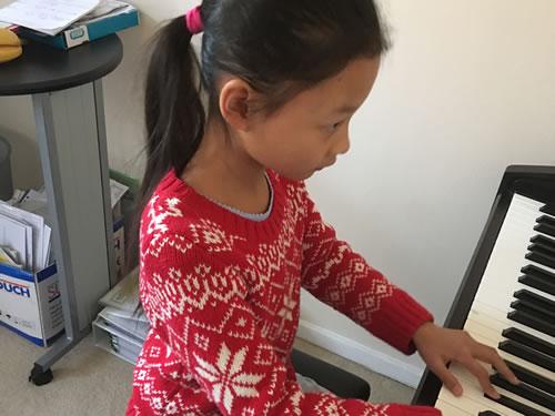 piano lesson derbyshire